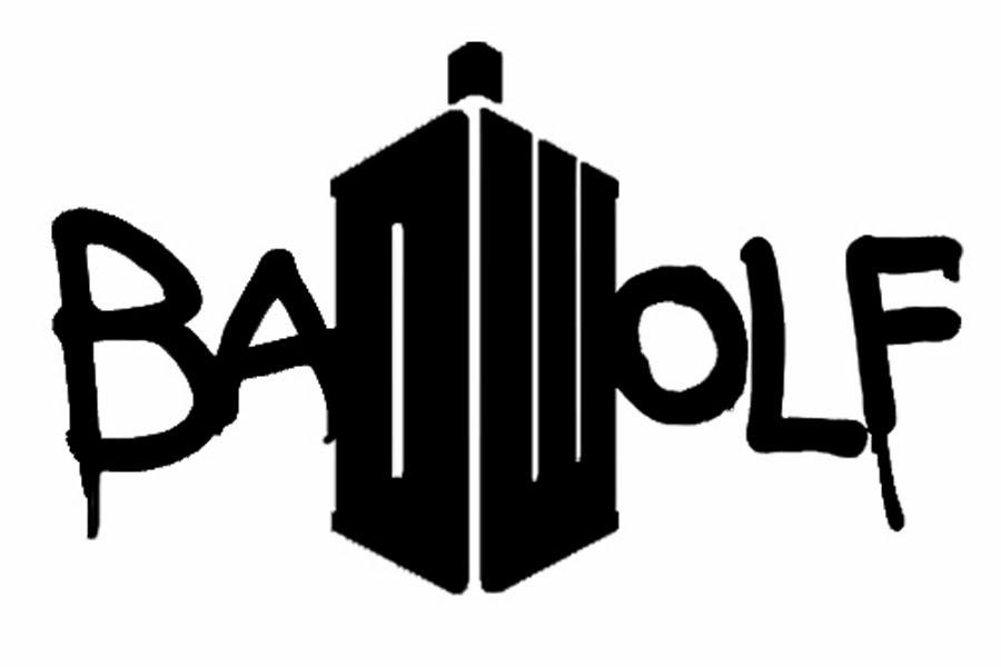 Doodlecraft: Doctor Who Logo Bad Wolf Shirt!