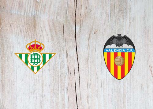 Real Betis vs Valencia -Highlights 18 April 2021