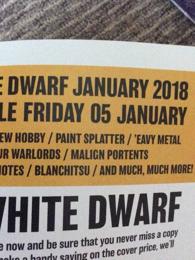 White Dwarf Reveal: Malign Portents Coming In January!