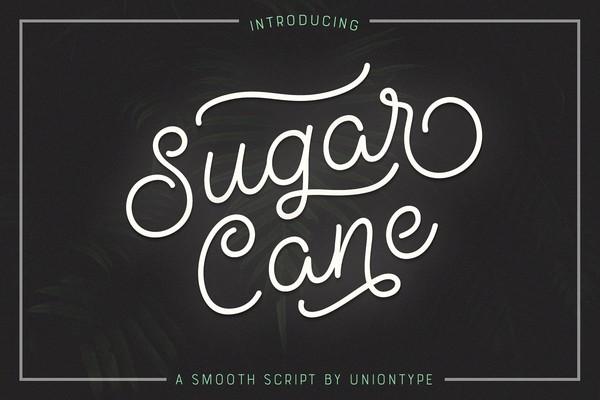 Sugar Cane Font