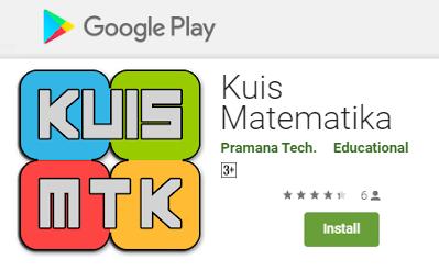 Aplikasi - Kuis Matematika