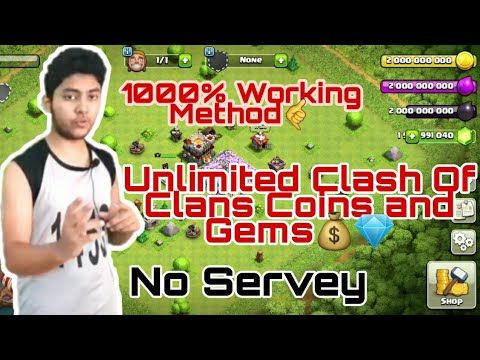 Clash of Clans Hack 2020 [999,999 Gems and Coins] Android | How to H4CK Clash of Clans
