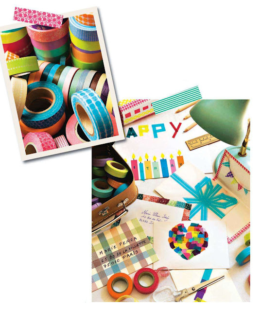 Washi Tape Card Inspiraiton