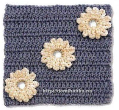 Granny de Flores a Crochet