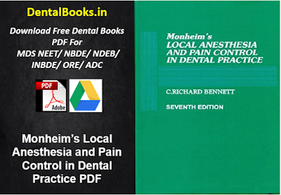Monheim's Local Anesthesia and Pain Control in Dental Practice PDF