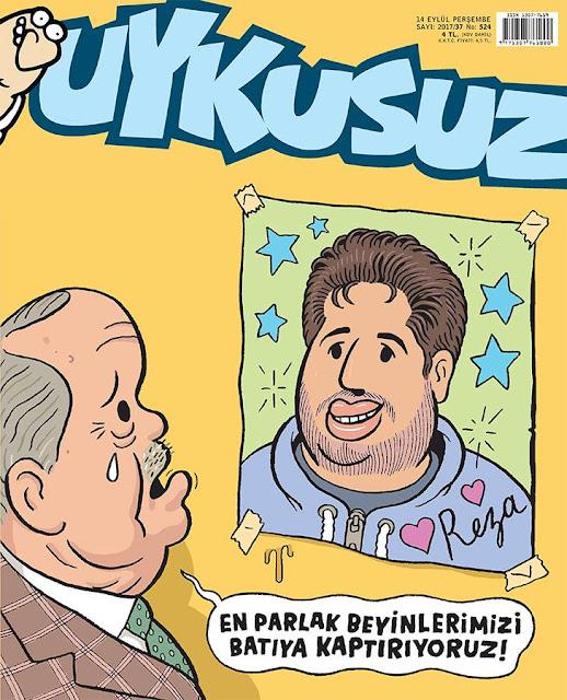 reza zarrab karikatür
