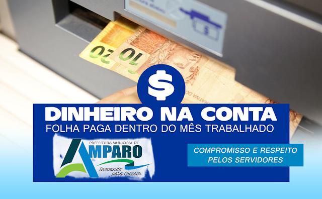 Prefeitura de Amparo paga salários de Maio dentro do mês e mantém valorização dos servidores