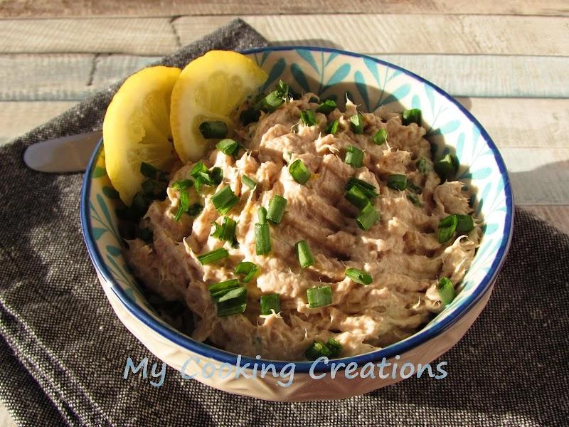Пастет от риба тон * Patè di tonno e philadelphia