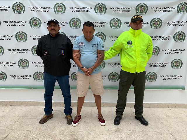 Policía del Cesar captura hombre por diferentes delitos, en Valledupar