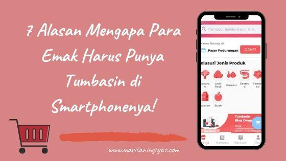 review tumbasin aplikasi belanja pasar tradisional online dari Semarang