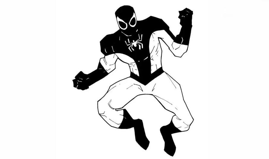 Homem-Aranha no Traje Negativo (1990)