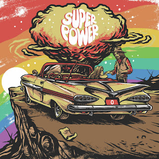 """0"" is the new album from SUPER POWER"