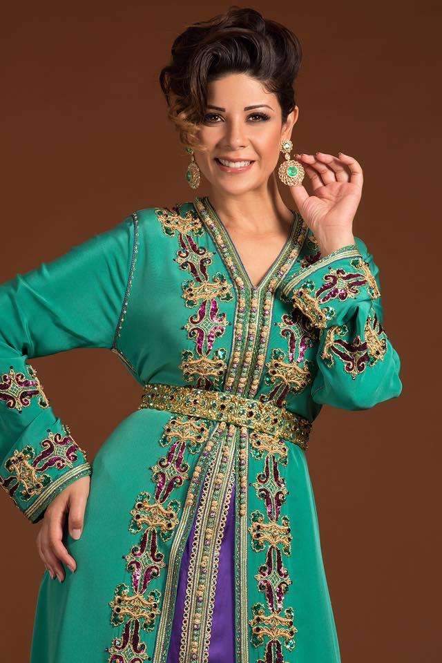 caftan haute couture leila hadioui