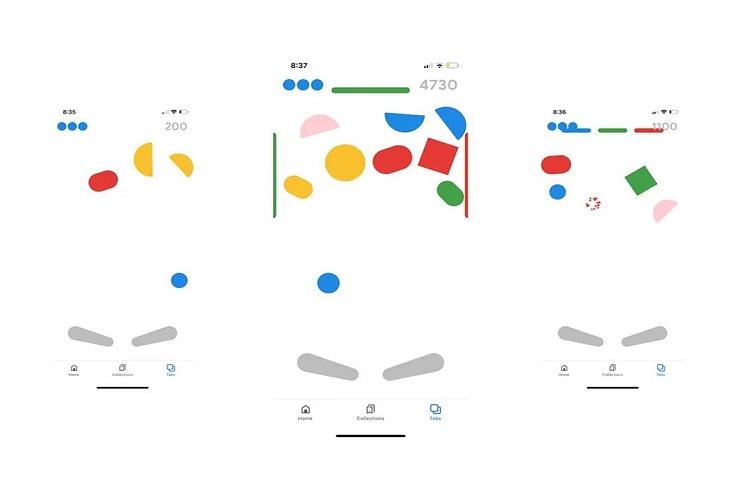 Google Pinball Game Easter Egg