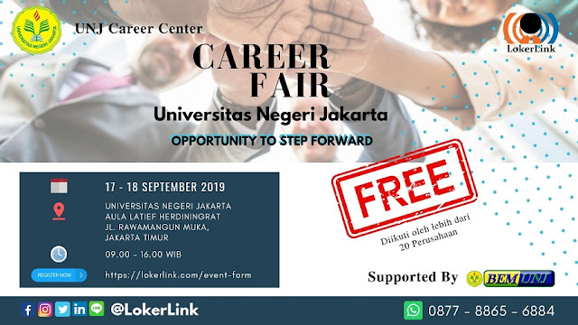 Job Fari Jakarta Terbaru 2019