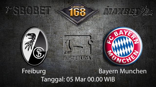 BOLA88 - PREDIKSI TARUHAN BOLA FREIBURG VS BAYERN MUNCHEN 05 MARET 2018 ( GERMAN BUNDESLIGA )