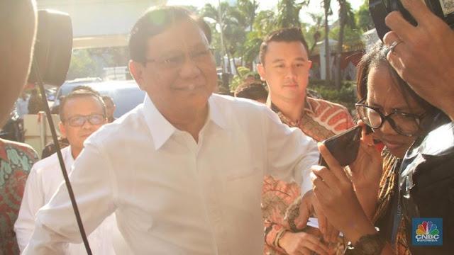 Prabowo Tiba di Istana, Gerindra: Kami Serahkan Sepenuhnya pada Pak Jokowi