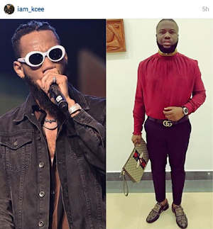 Musician Kcee summoned the EFCC To Investigate Hush Puppi's Source Of  money