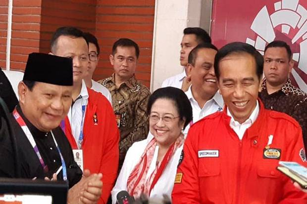 Prabowo jokowi megawati