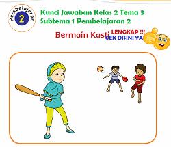 Kunci Jawaban Kelas 2 Tema 3 Subtema 1 Pembelajaran 2 www.simplenews.me
