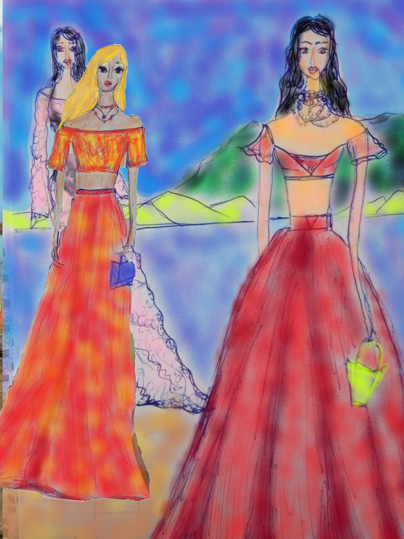 #modaodaradosti #fashionillustrationfriday