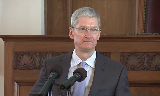 Tim Cook Courage Against Hate Award