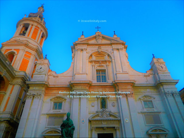 Loreto Sanctuary of the Holy House Loreto Copyright All rights reserved © By itravelinitaly.com travelers from Italy Photo by Baldassarri Giuseppe