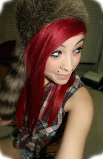 emo what are some emo hairstyles for girls