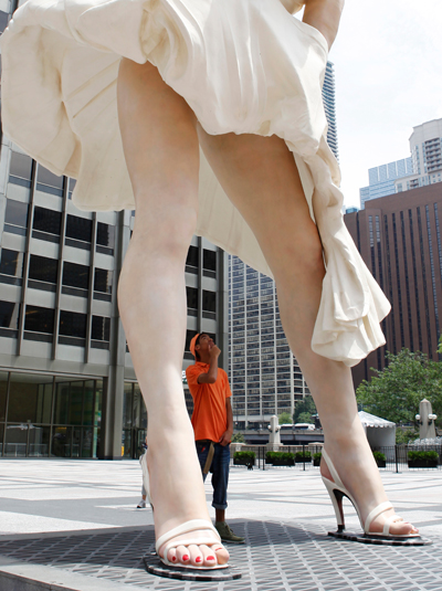 Forever Marilyn 2011 J. Seward Johnson, Jr