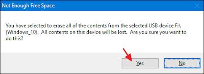 Usb drive format