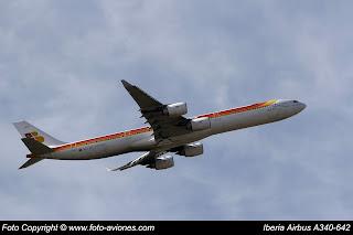 AVIÓN AIRBUS A340 EC-JCY