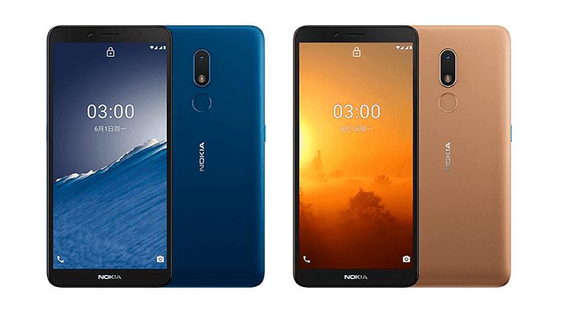 Nokia C3 announced in China