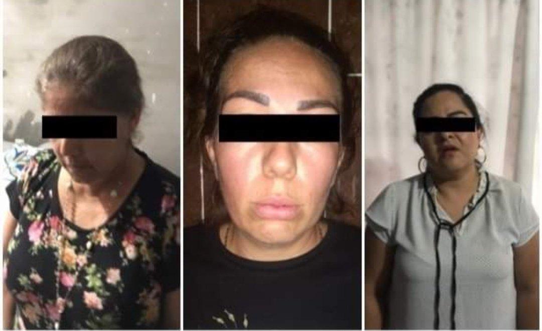 Estas son las fotos de la mamá, hermana y prima de El Marro detenidas ayer