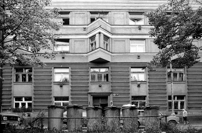 Prague, rue Na Rokytce, © L. Gigout, 1990