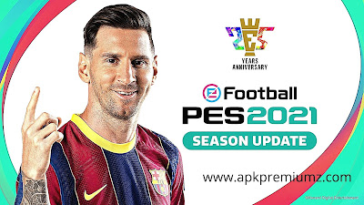 eFootball PES 2021 apk and Obb full game download
