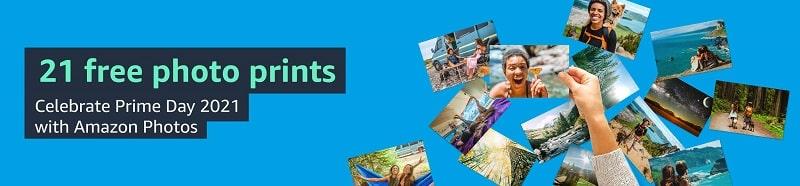 Amazon prime day 2021 free photo prints deal