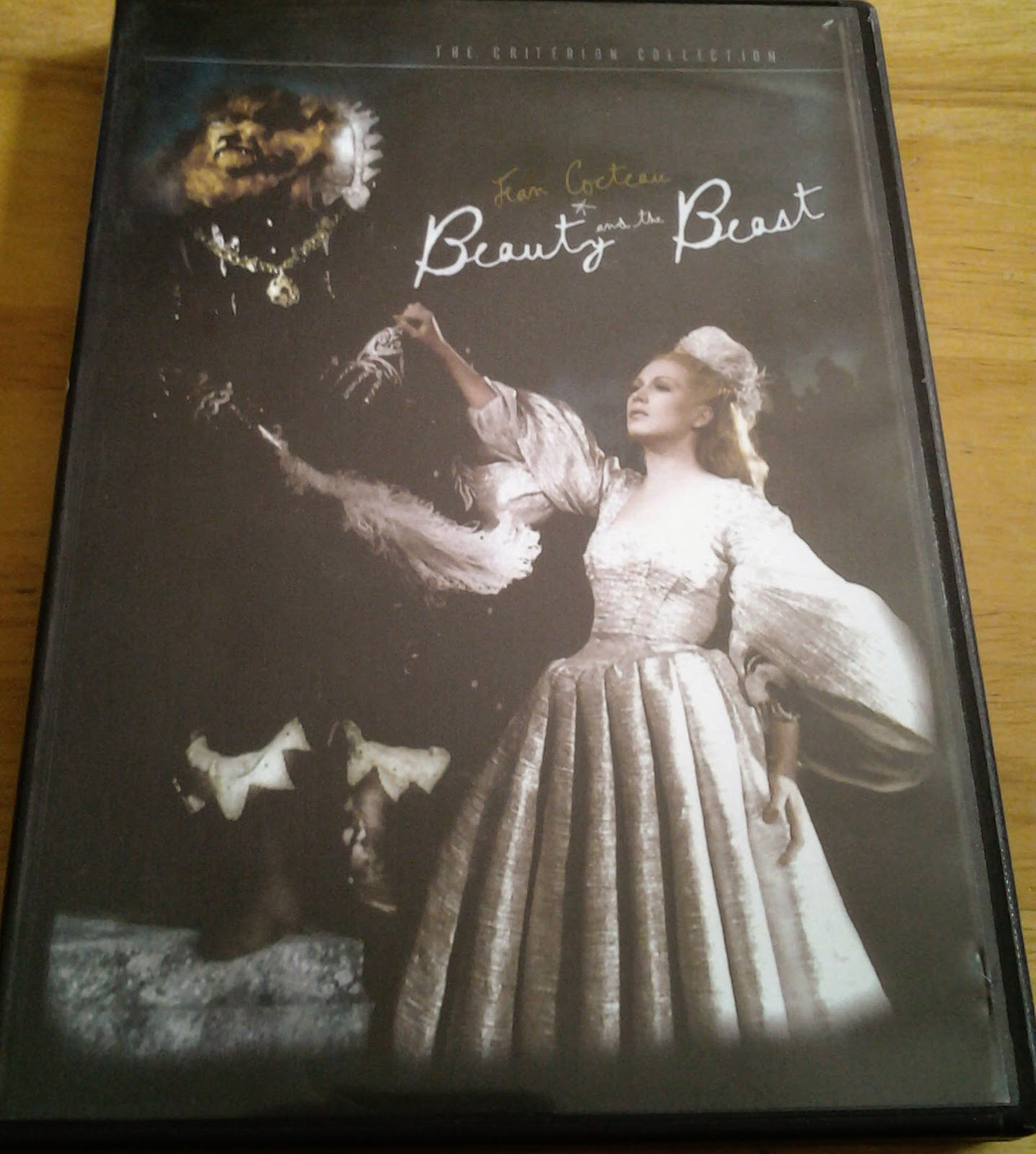 DVD Cover of Jean Cocteau's Beauty and the Beast
