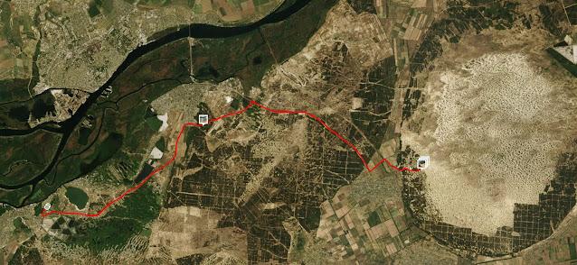 маршрут в алешковскую пустыню