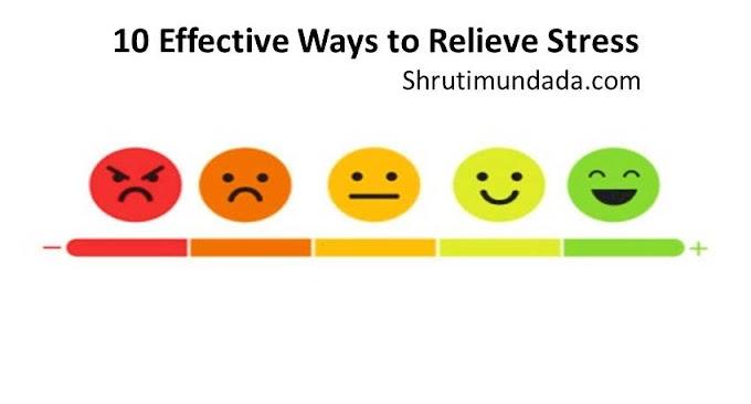 10 Effective Ways to Relieve Stress in Hindi तनाव दूर करने के 10 असरदार तरीके