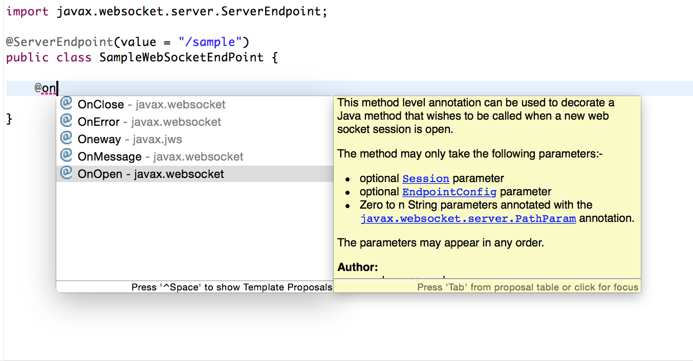 geekRai: Websocket in Java