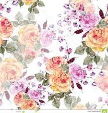 batik motif bunga mawar