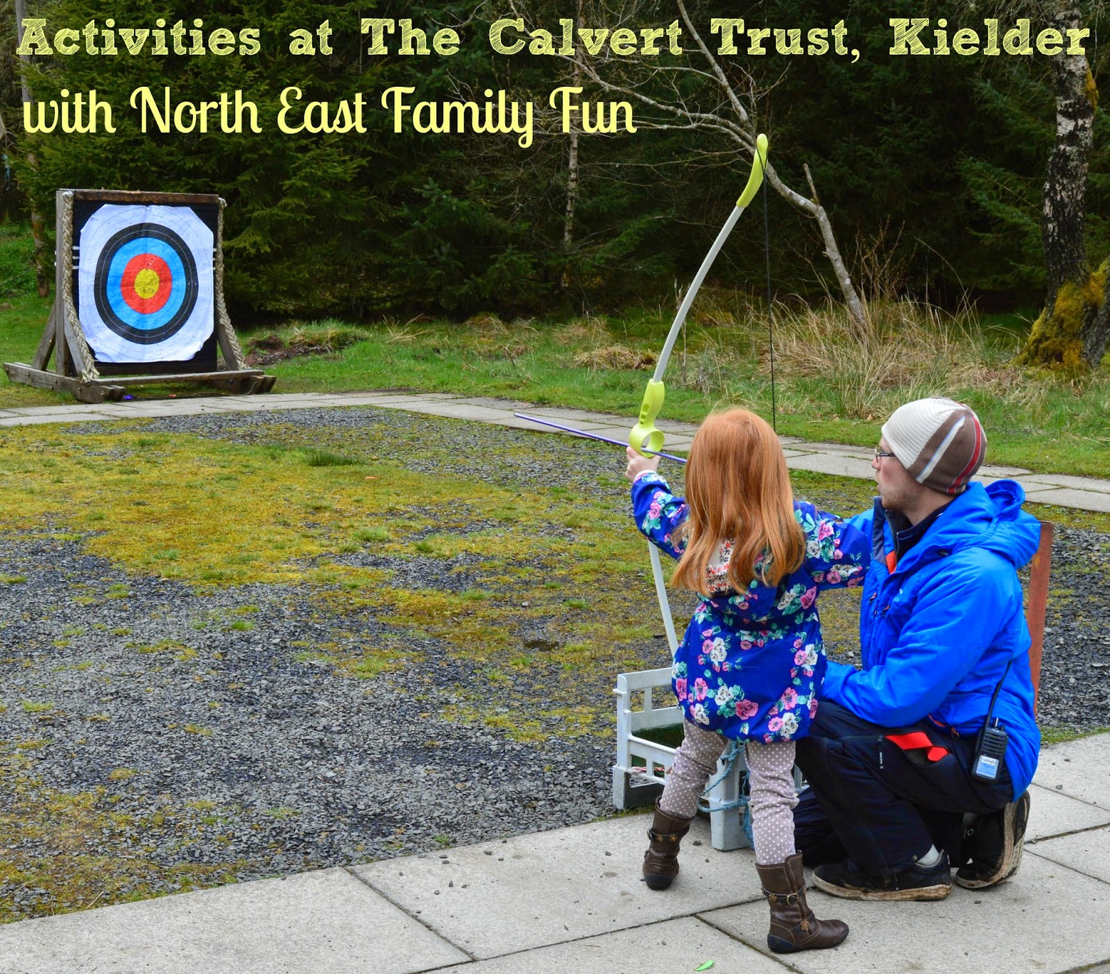 Outdoor activities at The Calvert Trust, Kielder - A review