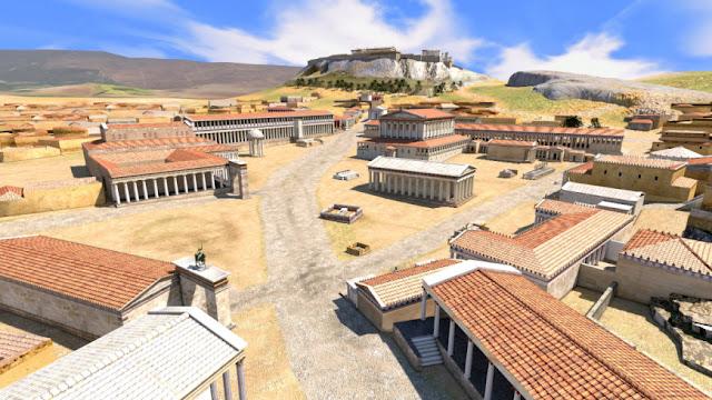 Τα τρισδιάστα μοντέλα της αρχαίας Αθήνας από έναν Έλληνα animator