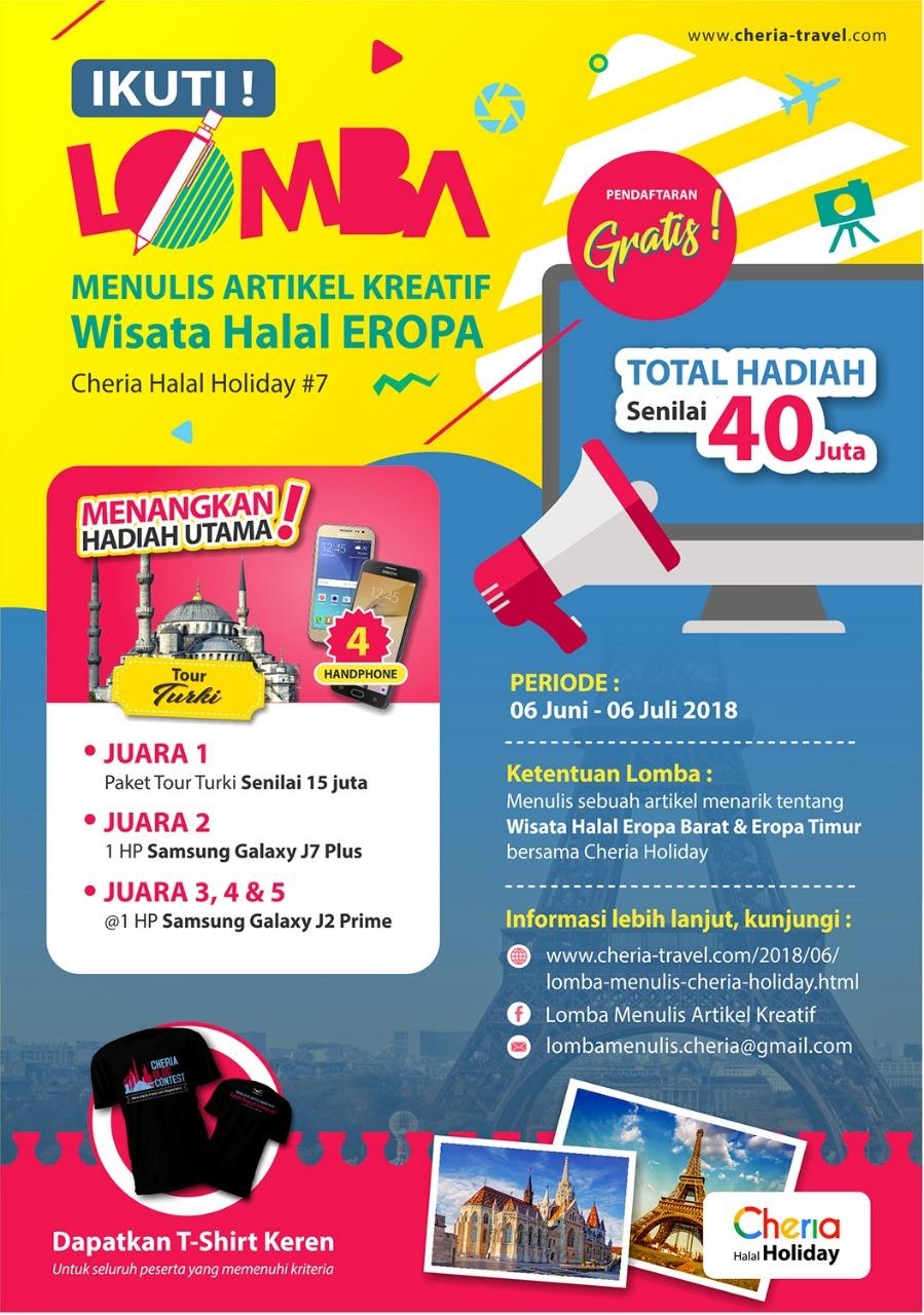 ceria travel blog competition