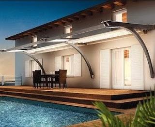 Contoh Model Gambar Kanopi untuk Rumah Minimalis