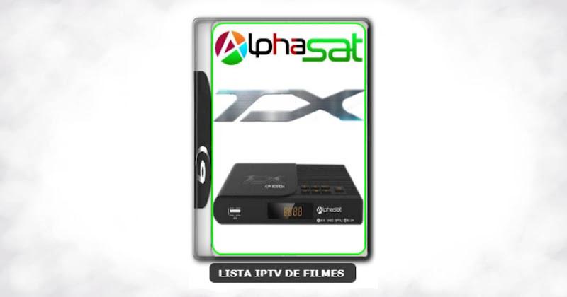 Alphasat TX Nova Atualização Melhorias no Serviço de IKS e EPG do IPTV V12.06.18.S75