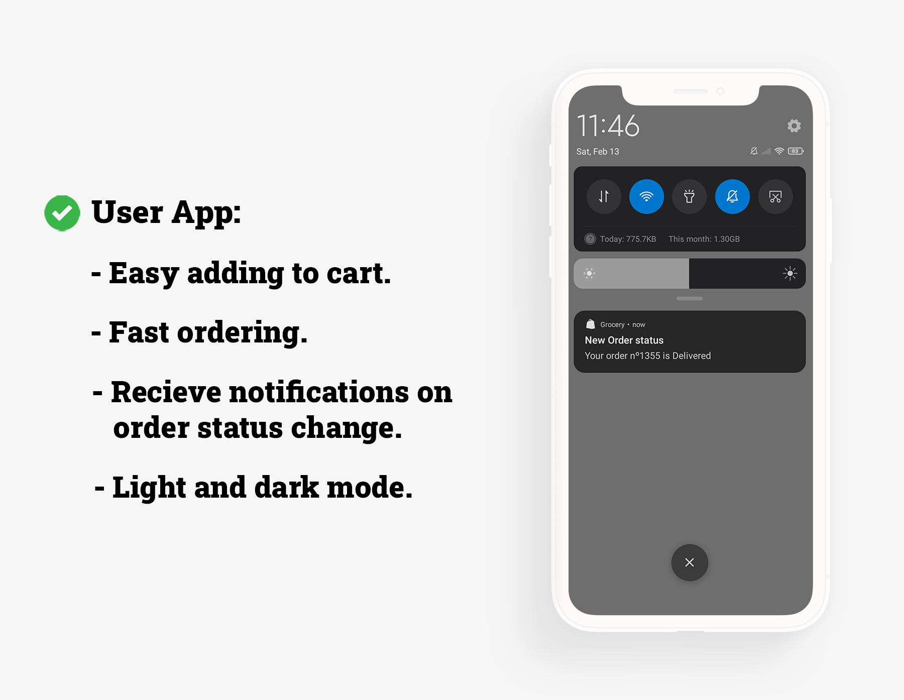 Flutter Grocery: Full Android + iOS eCommerce App - 8
