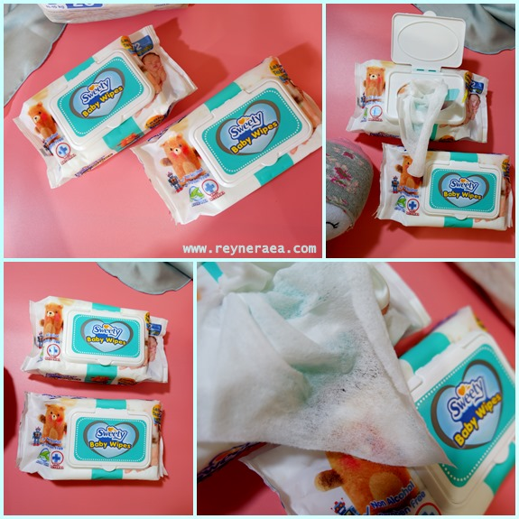 review sweety baby wipes