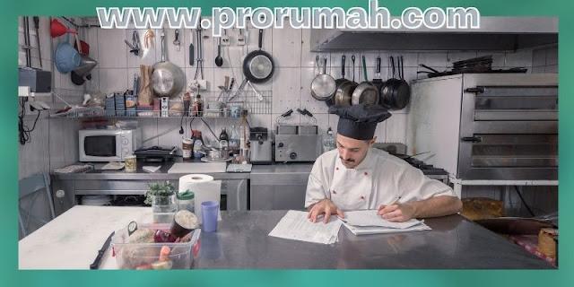 Tips Dekorasi Dapur Minimalis - buat daftar peralatan yang dibutuhkan