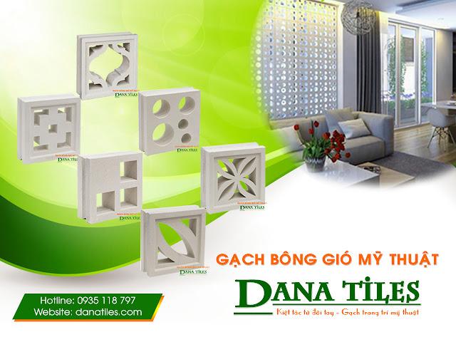 Gạch bông gió mỹ thuật DANA Tiles HGB